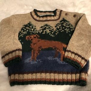 NWTHeartstrings infant boys 12month sweater